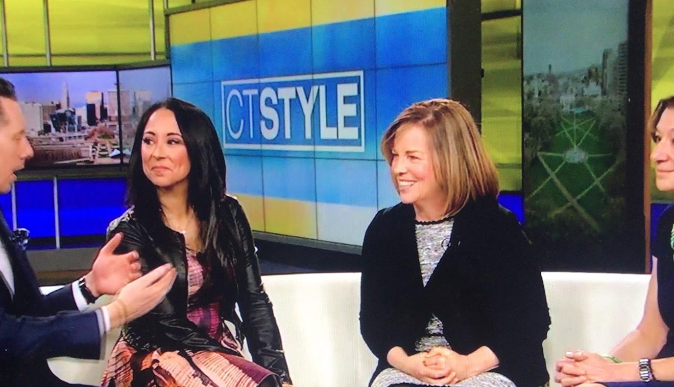 Talking Lilac Girls and Girl Scouts with WTNH News 8