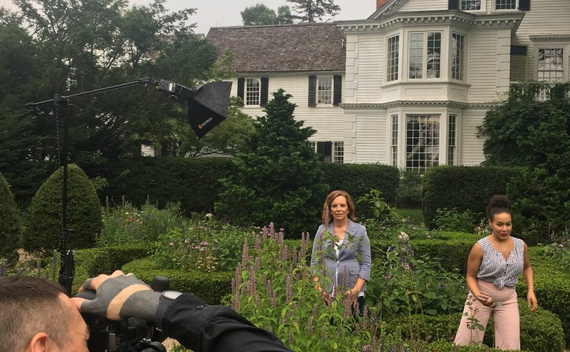 A Fun Shoot at The Bellamy Ferriday House for AARP Magazine